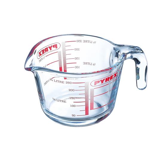Pyrex 0.25L Glass Measuring Jug image 1